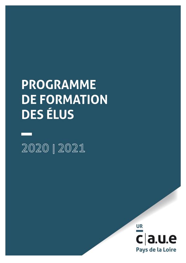 Programme de formation des élus 2020-2021