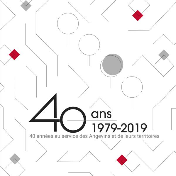 40 années au services des Angevins et de leurs Territoires