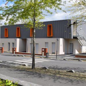 Immeuble et logements quartier Jean Monet © Architecture FARDIN