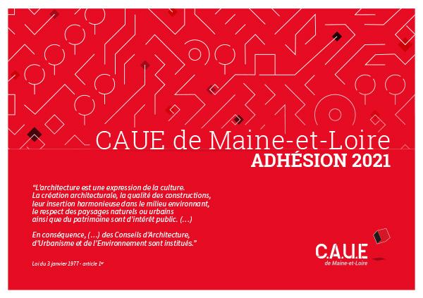 Adhésion du CAUE de Maine-et-Loire